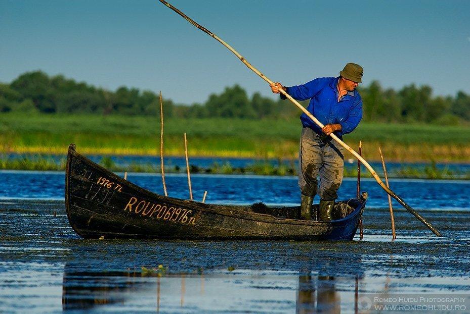 Danube Delta - Fisherman