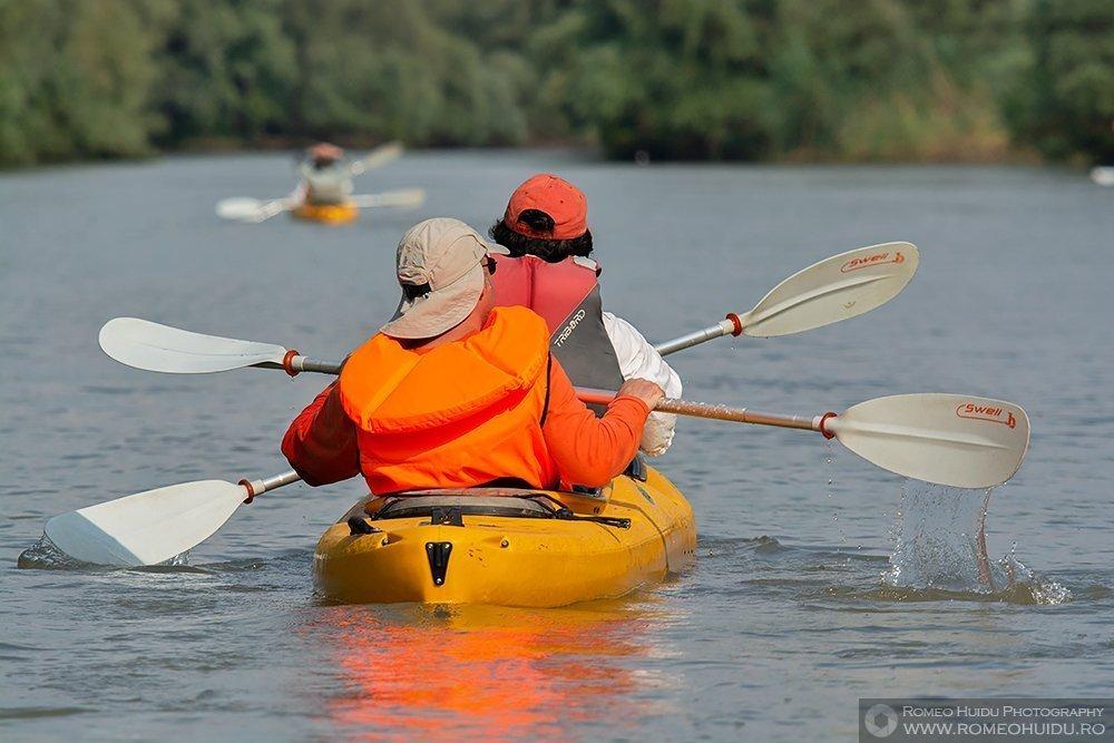 Caiac in Delta Dunarii