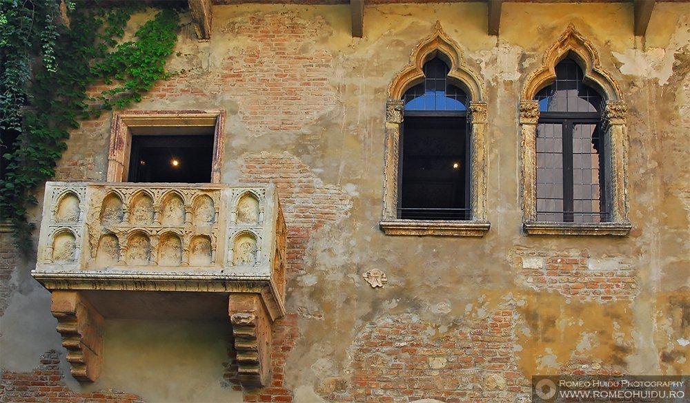 Verona - Balconul Julietei